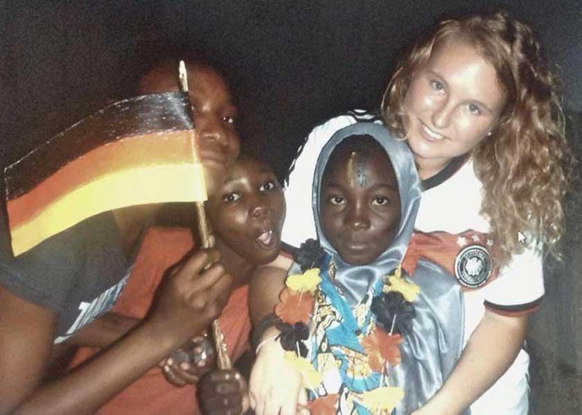 Lena mit einigen Little Angels